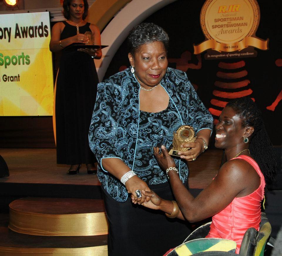 Jamaica Paralympic Association   Sylvia is Rewarded