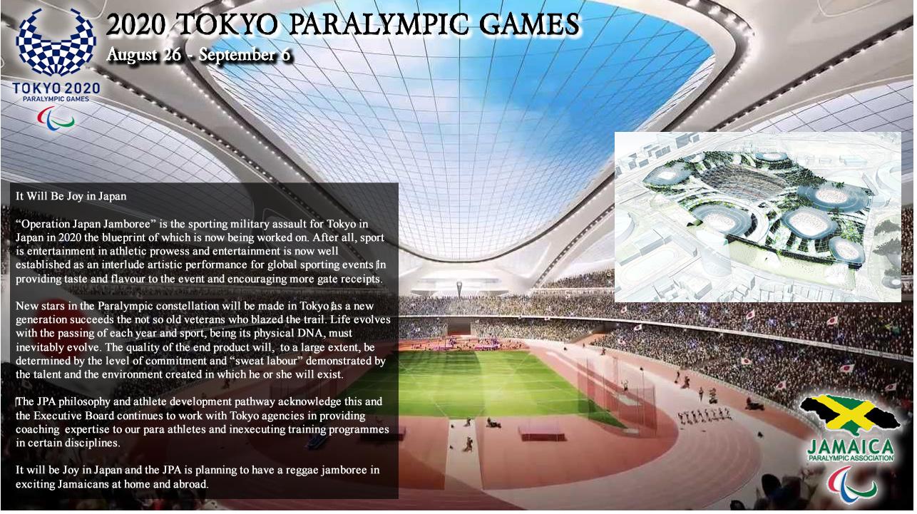 Jamaica Paralympic Association | 2020 Tokyo Paralympic Games